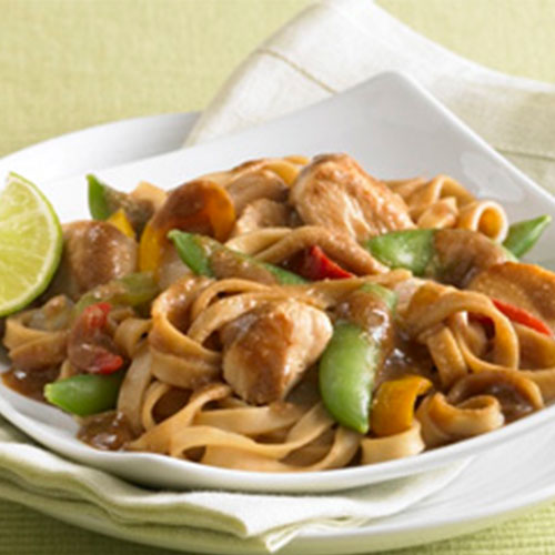 Asian Chicken Noodle Bowl