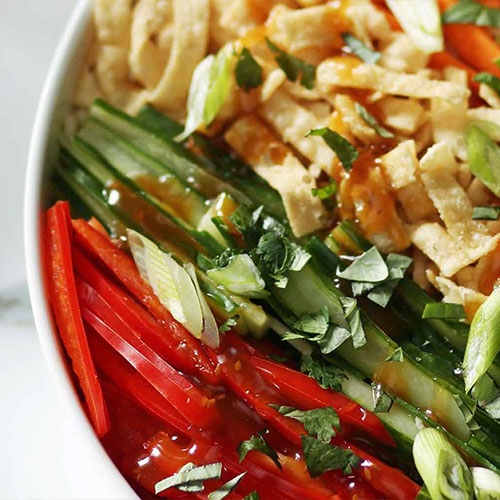 Fresh Asian Sesame Salad