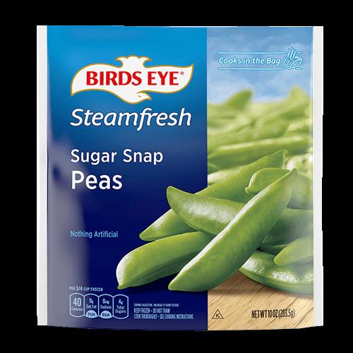 Sugar Snap Peas Steam Bag Vegetables Birds Eye